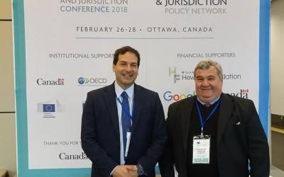 CABASE dice presente en Ottawa en la  Conferencia Mundial de Internet y Jurisdicción