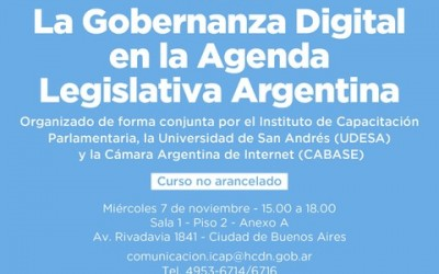 La Gobernanza Digital en la Agenda Legislativa Argentina