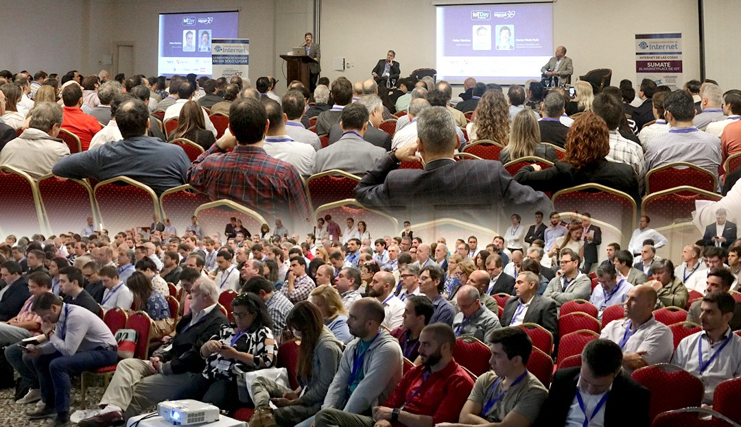 Gran éxito de la segunda edición del IoT Day
