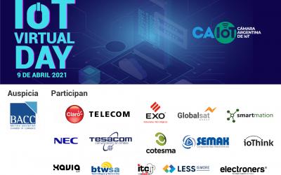 Gran éxito del IoT Virtual Day 2021